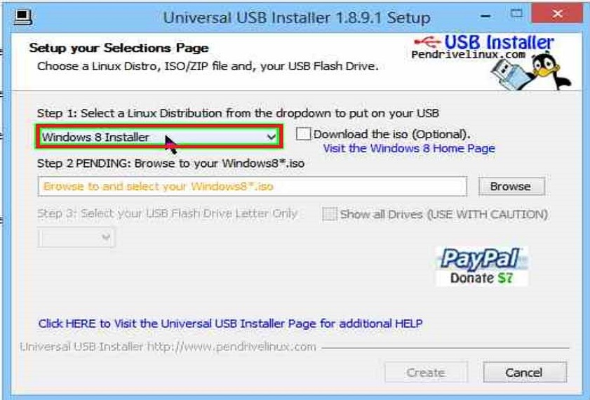bootable pendrive/DVD