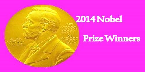 2014 Nobel Prize Winners
