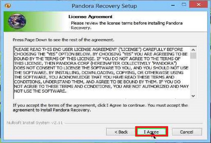Download Pandora Recovery