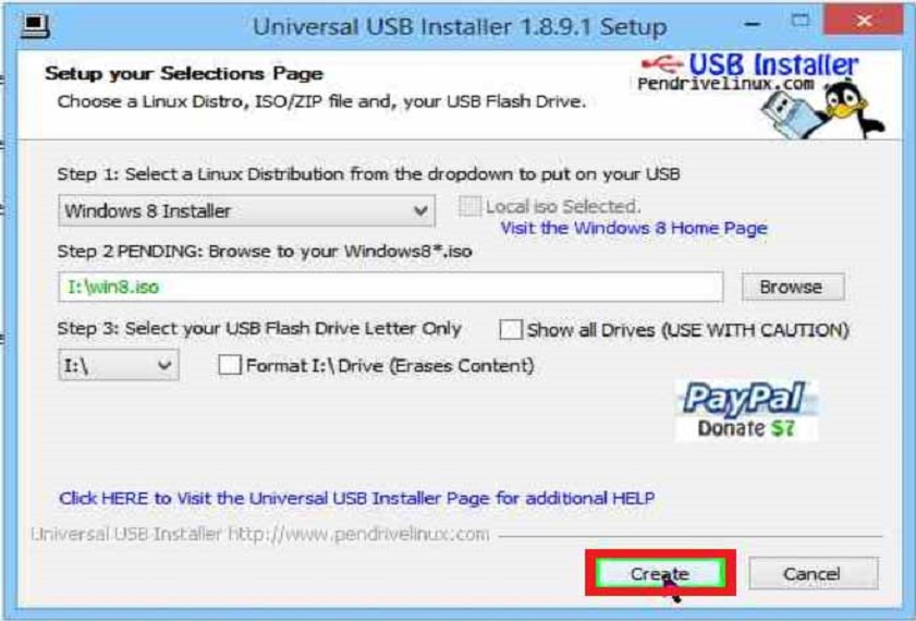 how to make windows 8.1 bootable usb drive