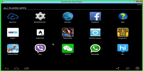 different bluestacks android emulator for windows pc free download began our