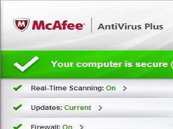 best antivirus mcafee