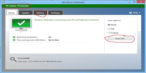 virus protection for windows 8 free