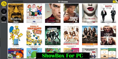 Download ShowBox for windows PC