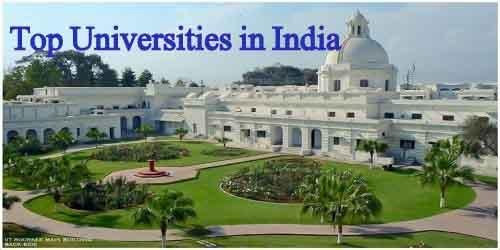 top 100 universities in India 2015