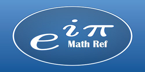 Math Ref for Laptop/PC