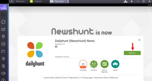 dailyhunt-pc-windows-download