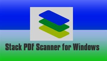 Stack PDF Scanner for Windows