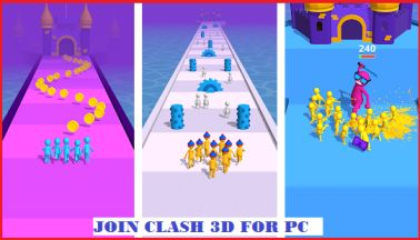 join clash 3d for pc