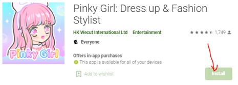 Pinky Girl: Dress up & Fashion Stylist for PC