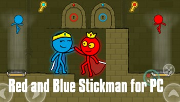 Red and Blue Stickman for PC