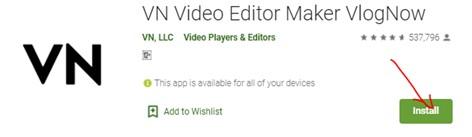 VN Video Editor Maker for PC